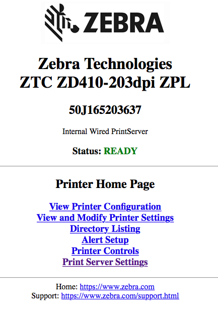 Zebra Browser Print Manual