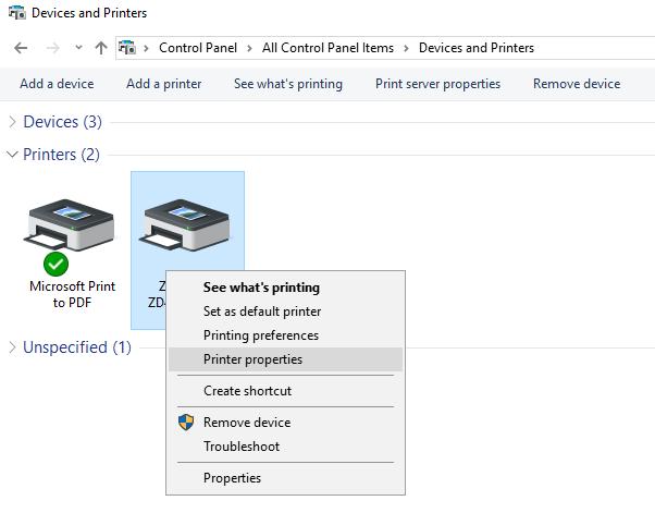 Zebra - Setup ZD410 On USB - NP Retail - NaviPartner