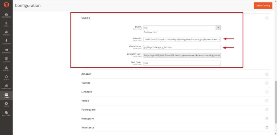 Mageplaza Social Login - NP Ecommerce - NaviPartner Learning